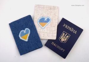 обкладинка на паспорт купити