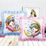 вишиті подушки для дітей