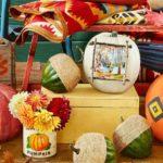 осінні декорації