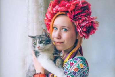 Ірина Галущак і Леві