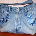 сумка з джинсів